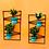 Thumbnail: Kit Dois Painel Suporte Para Vasos De Plantas