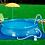 Thumbnail: Piscina Redonda 4600 Litros Inflável 4600l 3,00x0,76 Mor