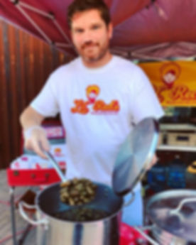 Serving Boiled Peanuts