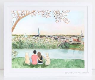 Watercolor Portait
