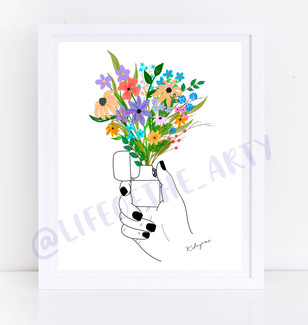 BIC Floral Print
