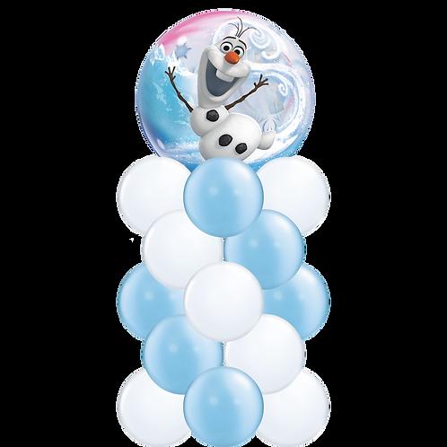 Ballong Søyle - Olaf Bubble