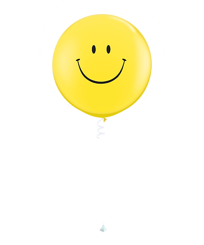 Stor helium ballong