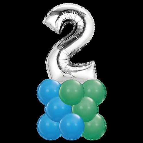 Ballong Søyle - Nummer