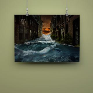 Poster Photoshop Impossible Landscape