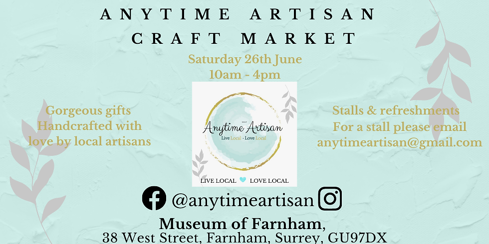 ANYTIME ARTISAN CRAFT MARKET