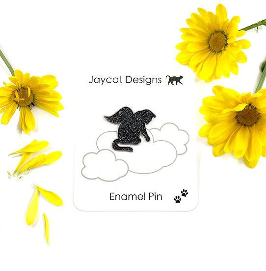 Angel Kitty Enamel Pin By Jaycat Designs
