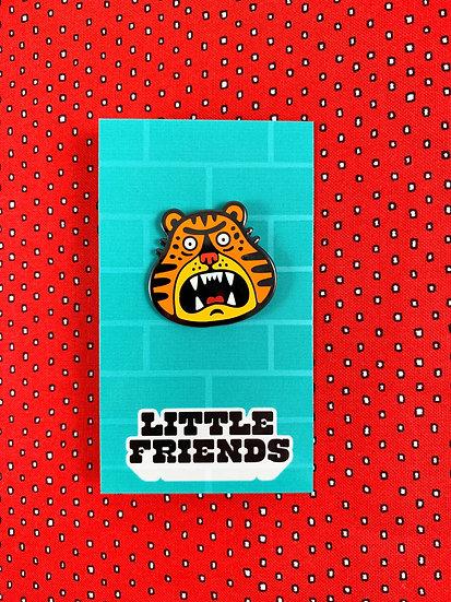 Tiger Enamel Pin By Little Friends Of Printmaking