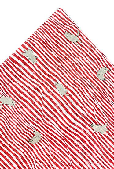 Neko Stripes Red Nip Mat
