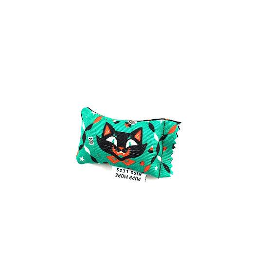 Halloween Black Cat Green Bean Silver Vine Catnip Blend