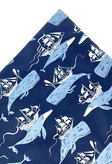 Whale Ships Nip Mat