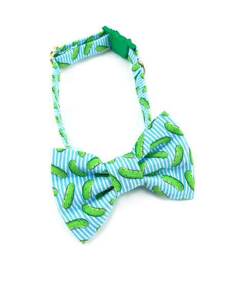 Pickles Bow Tie And Collar Set By Whiskers Crafts