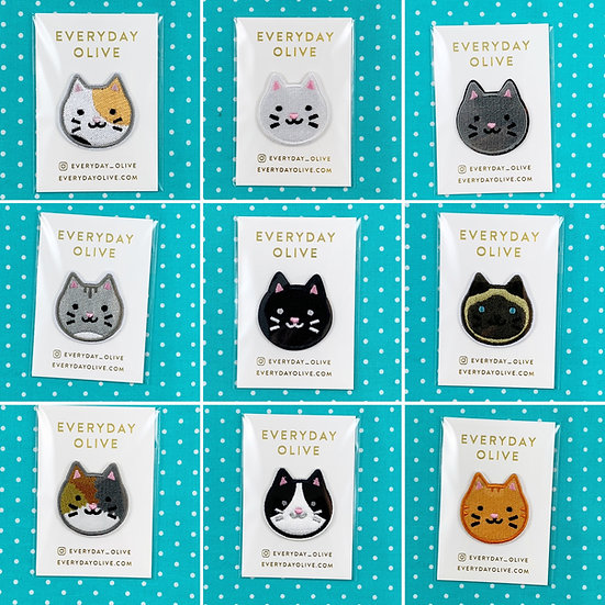 Kitty Patches By Everyday Olive