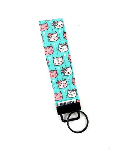 Pretty Kitty Key Fob