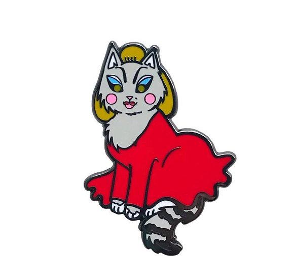 Divine Cat Enamel Pin By Danielle V Designs