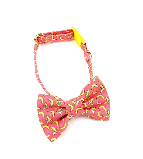 Banana Bow Tie And Collar Set By Whiskers Crafts