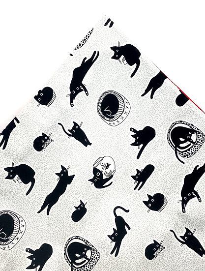 Les Chats Noirs Black Cats Nip Mat