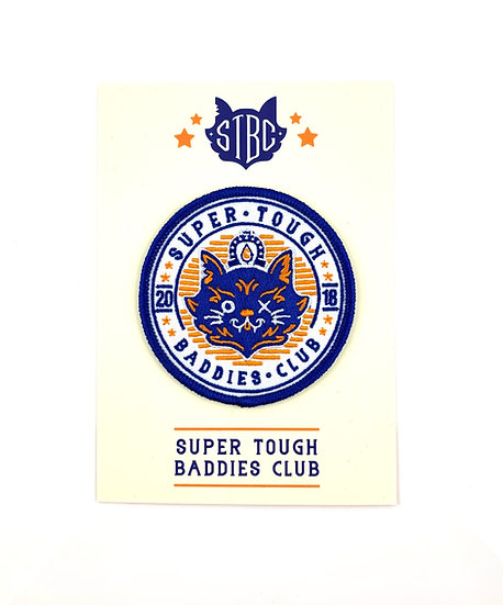 Super Tough Baddies Club Member Patch By STBC