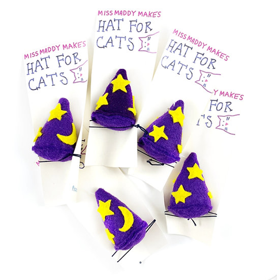 Wizard Hat For Cats By MissMaddyMakes
