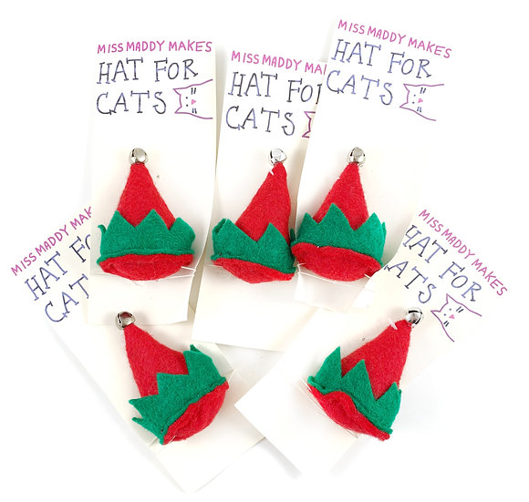 Elf Hat For Cats By MissMaddyMakes