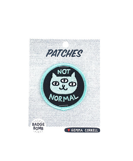 Not Normal Patch By Gemma Correll Badge Bomb