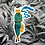 Thumbnail: Cannabis Cat Sticker By Pergamo Paper Goods