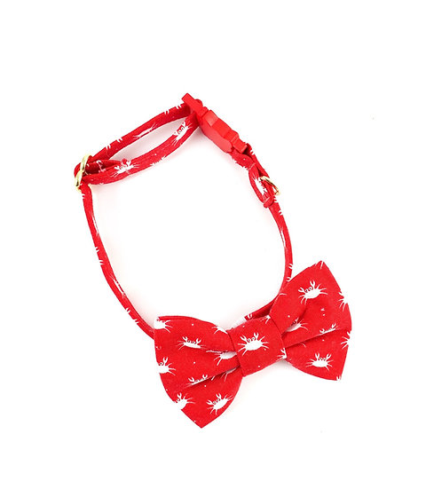 Crabby Bow Tie And Collar Set By Whiskers Crafts