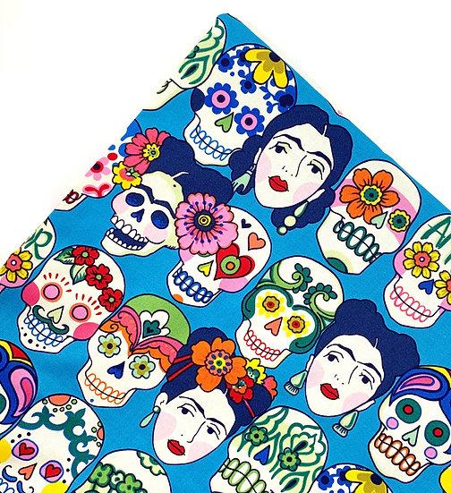 Frida And Skulls Day Of The Dead Nip Mat