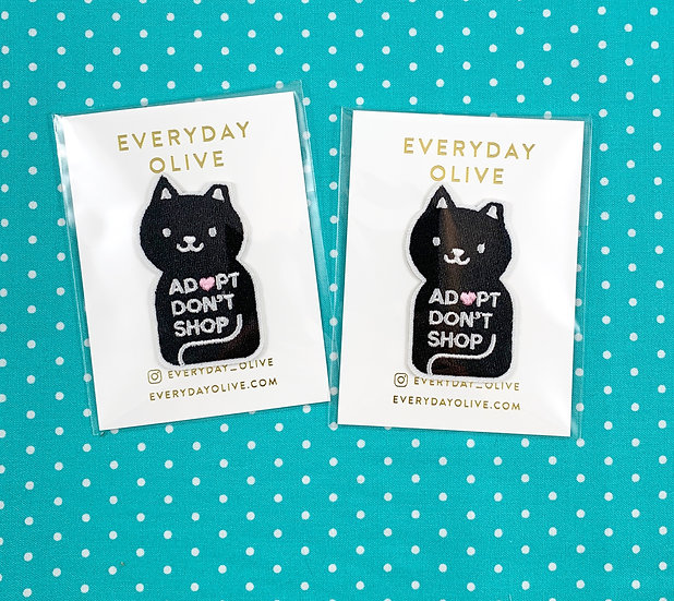 Adopt Don't Shop Patch Patch By Everyday Olive