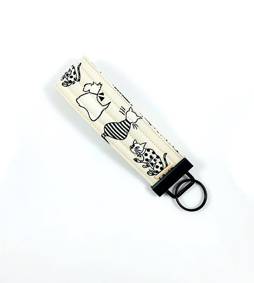 Cats And Dogs Key Fob
