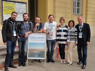 С коллегам на конференции Европейской ассоциации краткосрочной терапии (Вена, сентябрь 2015 г.)