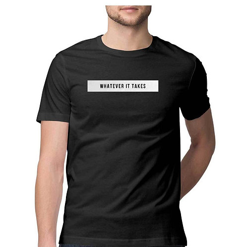 Imagine Dragon Black Plain T-shirt for Men
