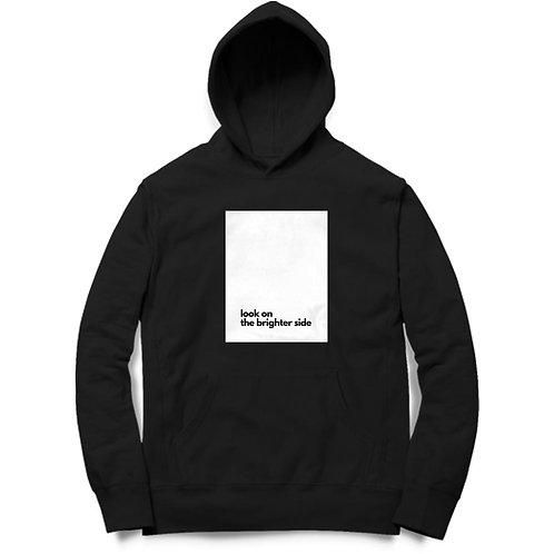 Unisex Brighter Side Black Hoodie