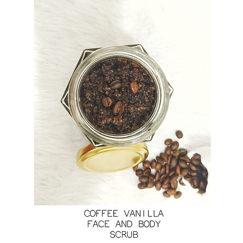 Coffee Vanilla Face and Body Scrub by The Tribe India