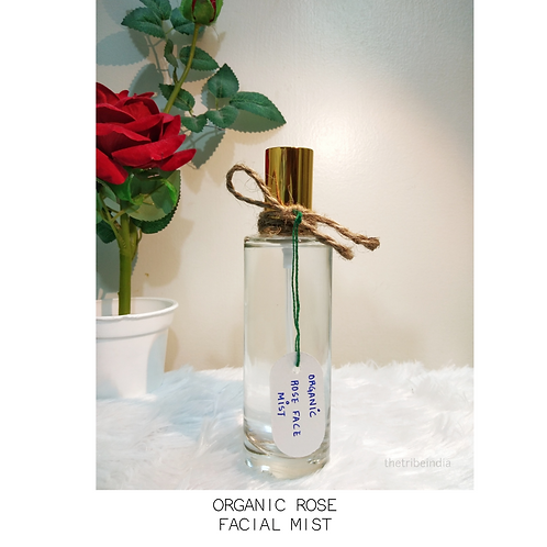 Organic Rose Facial Mist by The Tribe India