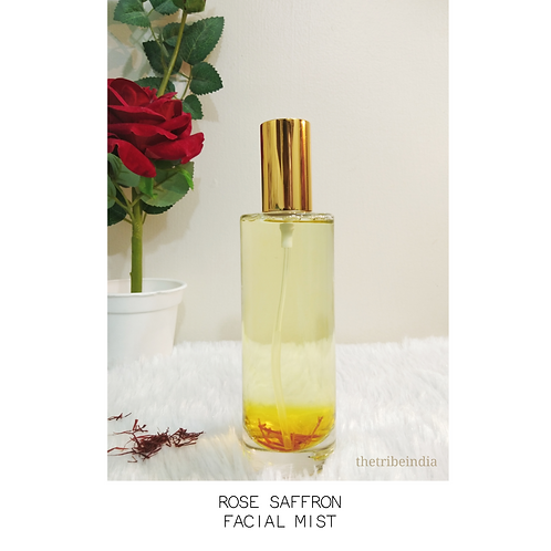 Rose Saffron Facial Mist by The Tribe India