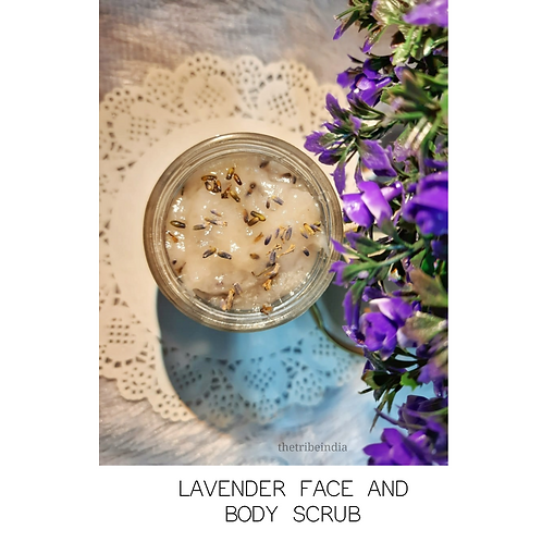 Lavender Face and Body Scrubs by The Tribe India