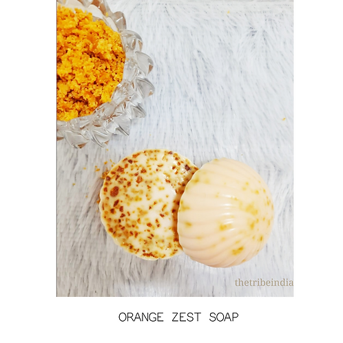 Orange Zest Bathing Bar by The Tribe India