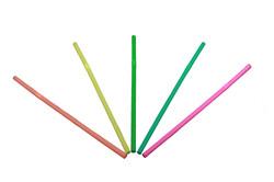Color Flexible Straws