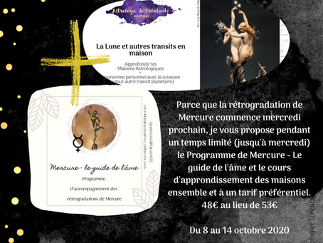 Programme + Cours