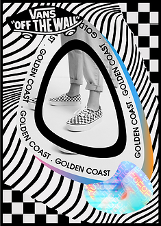 Vans Golden Coast Authentic Trading Card