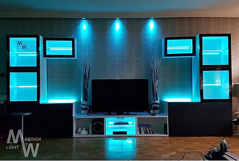 Wohnraumbeleuchtung Deluxe ☺🤙 #livingro