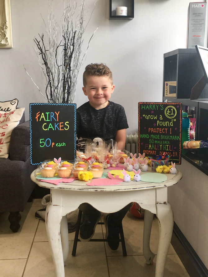 Harry's 'Grow a Pound' School Project