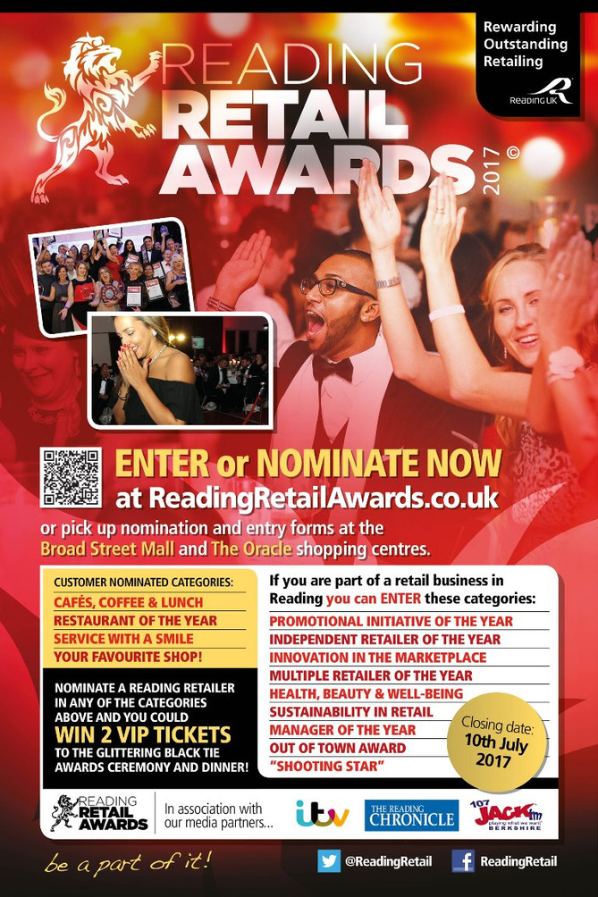 Reading Retail Awards 2017