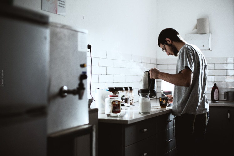 ישיבת תקוע - בפינת הקפה