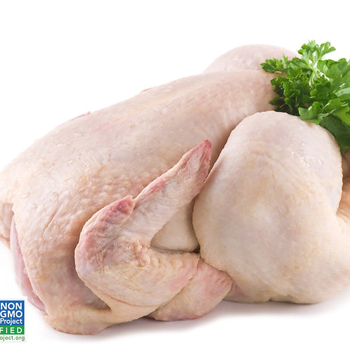 Organic Whole Chicken - Skinless