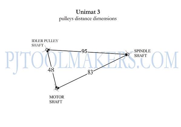 pulley distance dimensions unim3.jpg