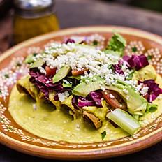 Tacos Dorados de Salmón