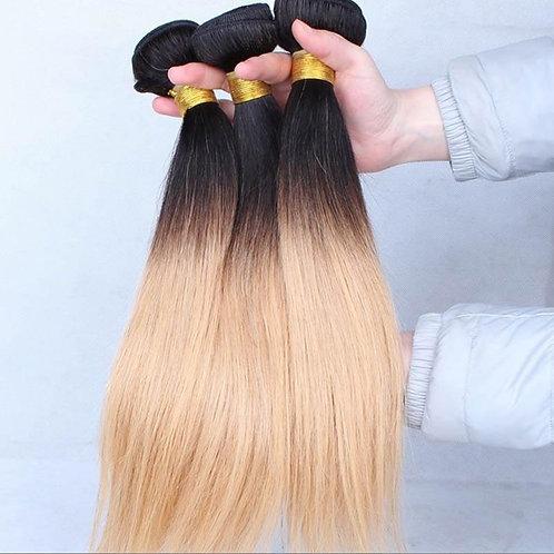 TWO TONED VIRGIN HAIR