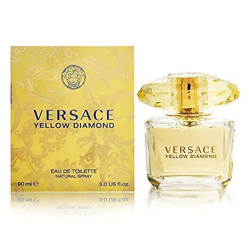 Versace Diamond Eau De Toilette Spray, Yellow, 3 Ounce  by Versace